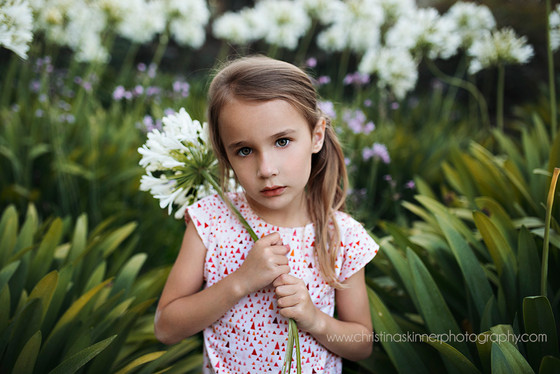 Clover is the newest pattern release from Violette Field Threads (Child fashion photography in Orang