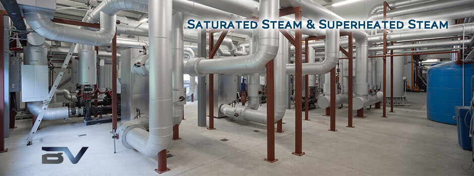 saturated steam vs. superheated steam