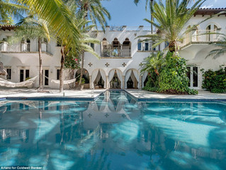 Lenny Kravitz's Onetime Miami Beach House Seeking $25 Million