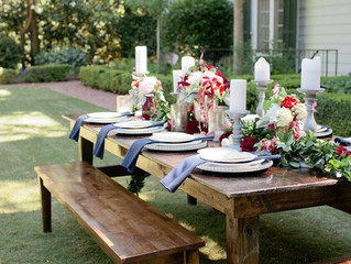 Table for Ten for or Party for Two? Set the Mood for Al Fresco Dining