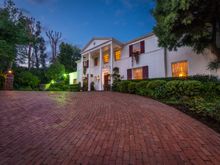 Frank Sinatra, Eva Gabor, Audrey Hepburn and Mia Farrow:  Holmby Hills Home for Sale