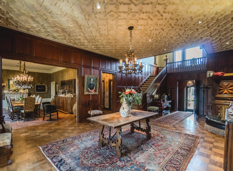 "Beautiful Historic Nichols Hills Estate Home, ""CASA GRANDE"" is offered for sale"