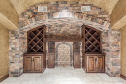True Wine Cellar with Groin Ceiling!