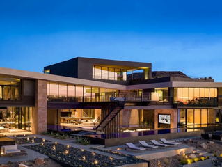 The Most Expensive Listing in Greater Las Vegas Is This Futuristic Spec Home With an 11-Car Garage