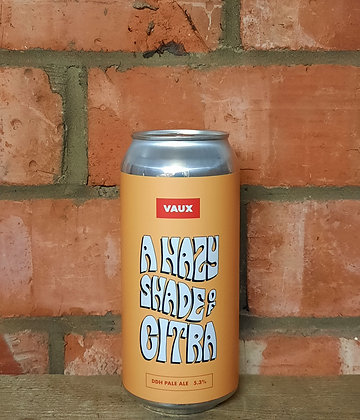 Hazy Shade Of Citra – Vaux – 5.3% DDH Pale