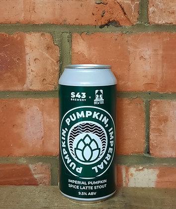 Pumpkin Pumpkin Imperial – S43 X Brew York – 9.5% Impy Pumpkin Spice Latte Stout