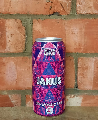 Janus – Twice Brewed – 4.7% DDH Mosaic Pale