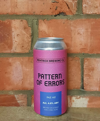 Pattern Of Errors – Pentrich – 4.8% Pale