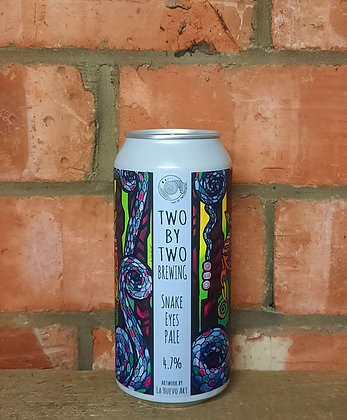 Snake Eyes – Two by Two – 4.7% House Pale