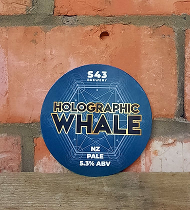 Holographic Whale – s43 – 5.3% NZ Pale