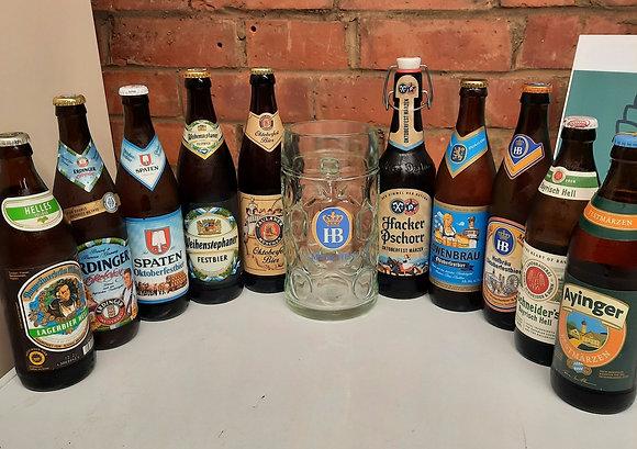 10 Oktoberfest Beers plus stein