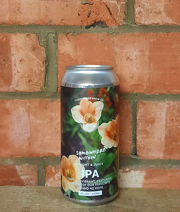 Somewhere Within – Cloudwater – 6% IPA