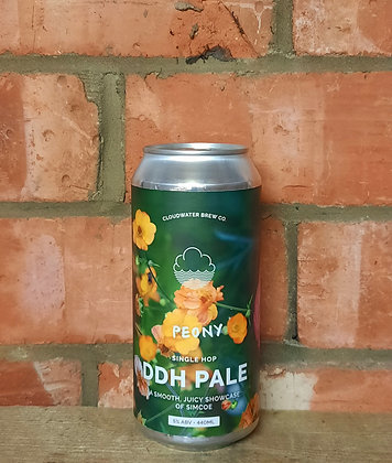Peony – Cloudwater – 5% DDH Pale