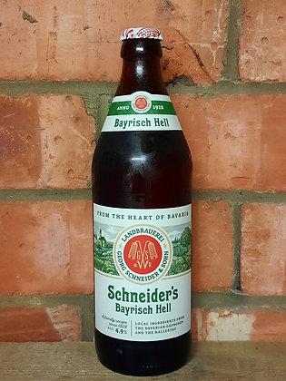 Bayrisch Hell – Schneider – 4.9%