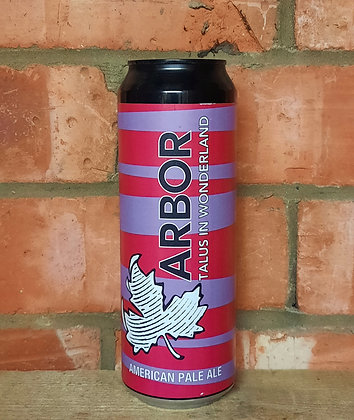 Talus In Wonderland – Arbor – 4.8% American Pale