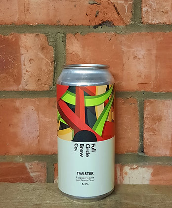 Twister – Full Circle – 5.1% Raspberry, Lemon & Lime Sour
