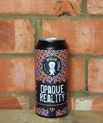 Opaque Reality – Wilde Child – 5.9% Mango & Passionfruit Milkshake IPA