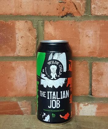 The Italian Job – Wilde Child – 6% Tiramisu Milkshake Stout