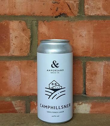 Camphillsner – Ampersand – 4.9% Unfiltered Lager