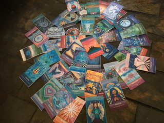 The Journey of The Intuitive Child Oracle Cards