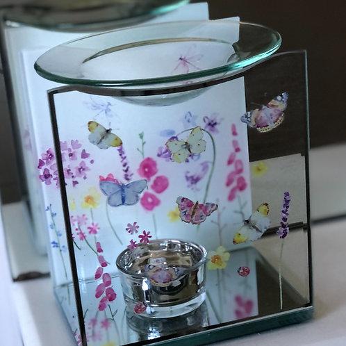 Butterfly Garden Glass Burner