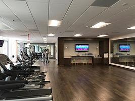 Fitness Center, Gateway, MCS Contruction Services, TI, workout room, gym, San Mateo