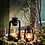 Thumbnail: Petite lanterne à huile noire Vintage