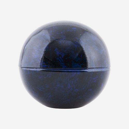 Boîte boule en fer bleu pétrole HOUSE DOCTOR