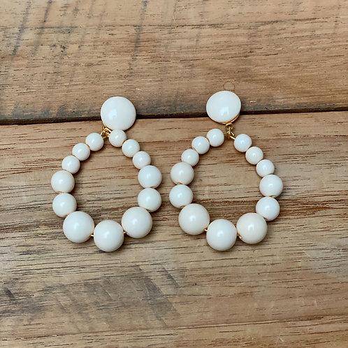 Boucles d'Oreilles VINTA – Ivoire