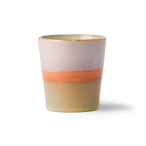 Mug en céramique 70's Saturn HK Living
