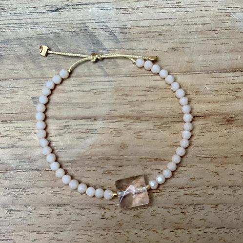 Bracelet perles fines – Nude