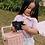 Thumbnail: Panier Picnic Enfant Olli Ella couleur rose