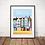 Thumbnail: Affiche Wim' Malo Les Bains 30x40 cm