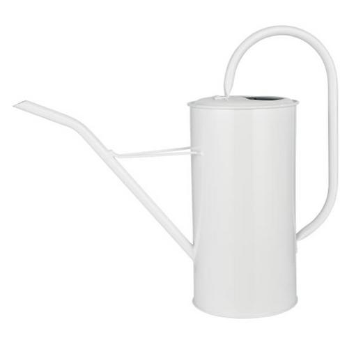 Arrosoir métallique blanc 2,7 litres