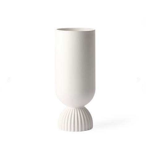 Vase céramique blanc HK Living
