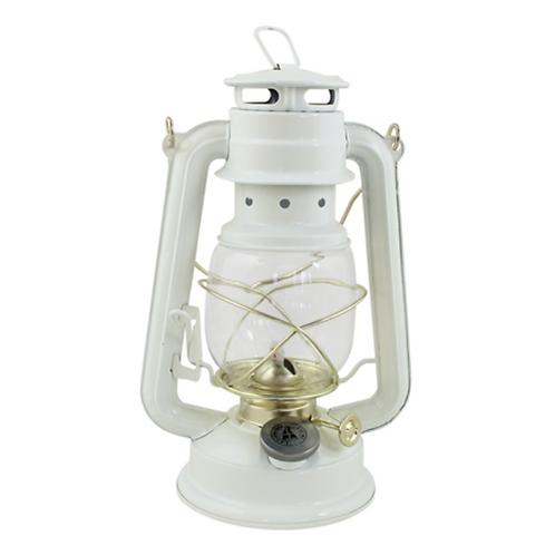 Petite lanterne à huile blanche Vintage