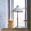 Thumbnail: Lampe vintage blanche