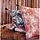 Thumbnail: Coussin en lin Mahé Naturel 45x45 cm