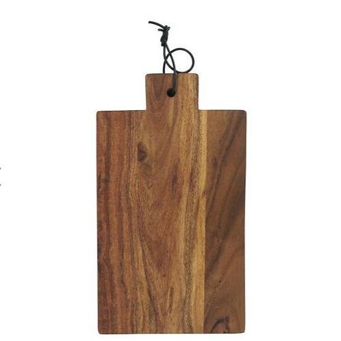Planche à découper en bois rectangulaire