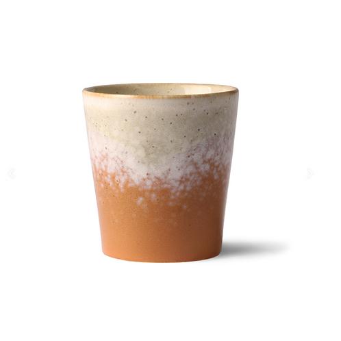Mug en céramique 70's Jupiter HK Living