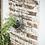 Thumbnail: Treillis mural en bois et corde