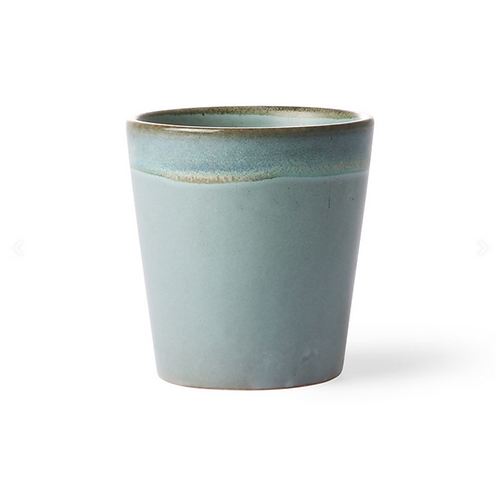 Mug en céramique 70's Moss HK Living