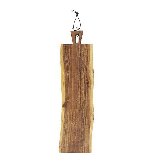 Planche à tapas en bois rectangulaire
