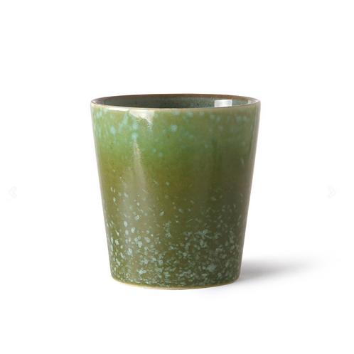 Mug en céramique 70's grass HK Living