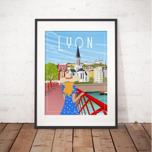 Affiche Wim' Lyon 30x40 cm