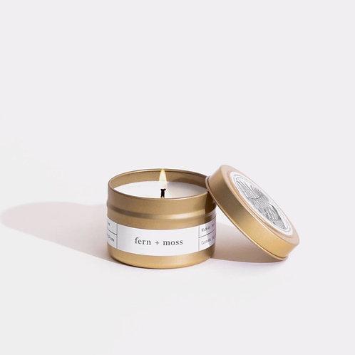 Bougie Travel Fern + Moss Brooklyn Candle Studio
