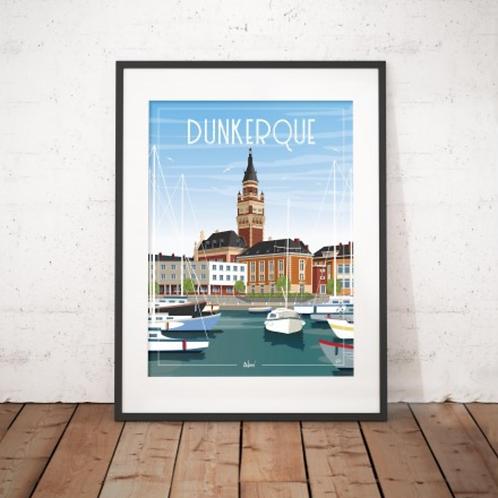 Affiche Wim' Dunkerque 30x40 cm