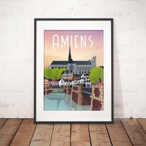 Affiche Wim' Amiens 30x40 cm