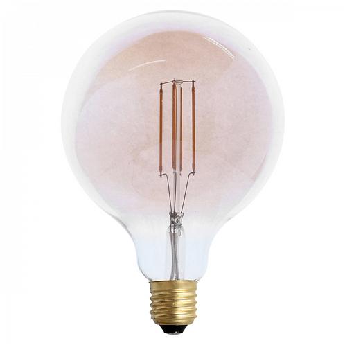 Ampoule LED rétro Ronde (D.9,5cm) filament vertical 4W (E27)