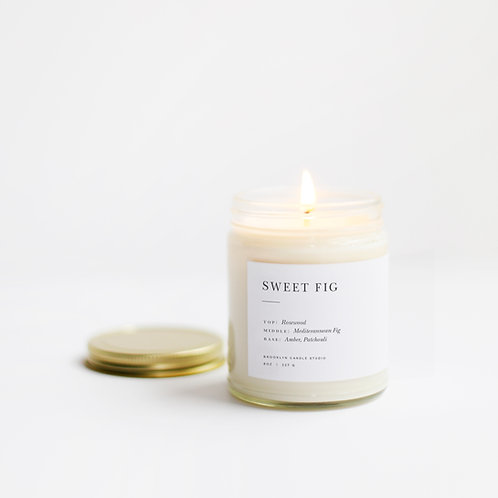 Bougie Sweet Fig Brooklyn Candle Studio